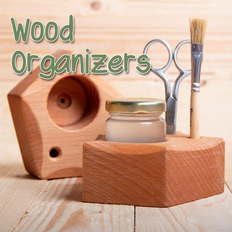 Wood Organizers