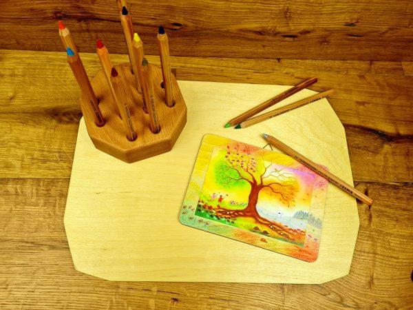 kaartenplankje waldorf inspiration